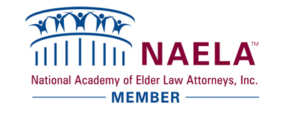 NAELA Association badge for Warner Law Group